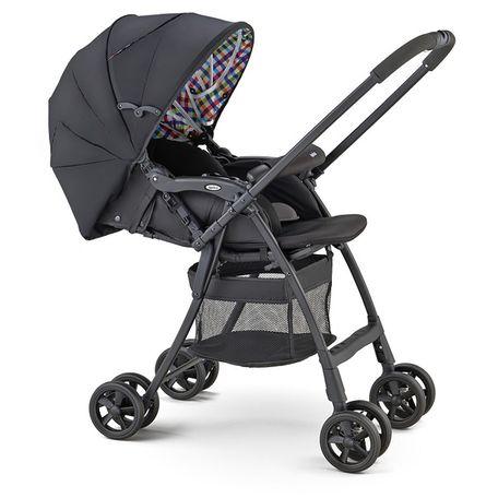 Xe đẩy trẻ em Aprica Karoon Plus HS Black