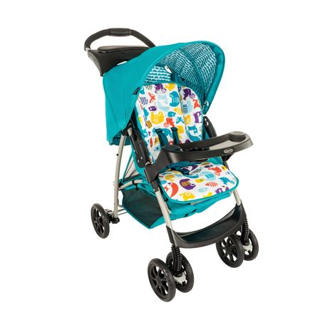 Xe Đẩy Trẻ Em Graco Mirage BK Zigzag – Into the woods – Solo Pop
