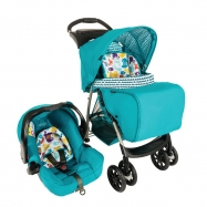 Xe đẩy trẻ em Travel System Graco Mirage Into The Wood