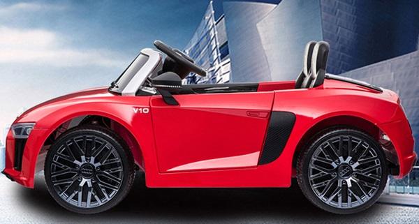 Xe điện trẻ em Audi R8 Spyder_Hệ thống bánh cao su cao cấp siêu bền