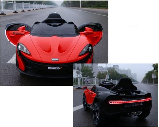 Xe điện trẻ em McLaren BDQ-1199_Cụm đèn LED phía sau