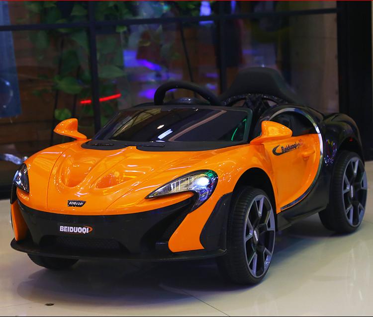 Xe điện cho bé McLaren BDQ-1199_Màu Cam đẹp mắt