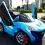 Xe ô tô điện trẻ em Mclaren HEB-999