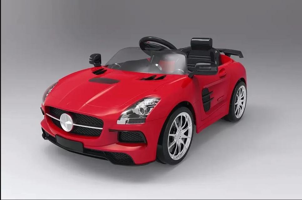 Xe ô tô điện trẻ em Mercedes BLJ 9818 - đèn LED trước