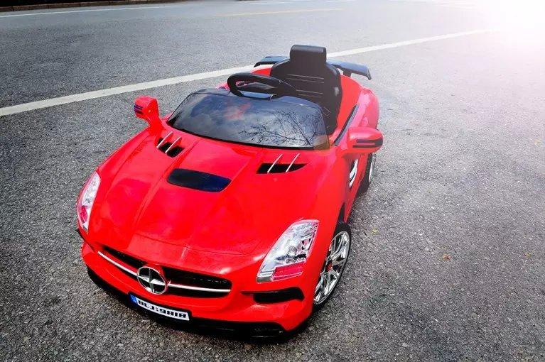 Xe điện cho bé  Mercedes BLJ 9818 - Màu Đỏ