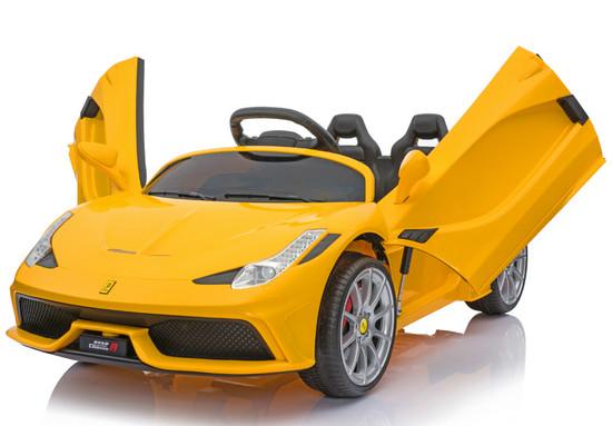 xe-oto-dien-tre-em-FERRARI-2018-yellow