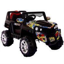 Xe ô tô điện trẻ em 2 chỗ ngồi Jeep địa hình A-6500