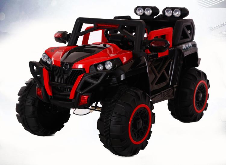 Xe ô tô điện trẻ em 2 chổ ngồi Jeep BQ-2188 màu đỏ