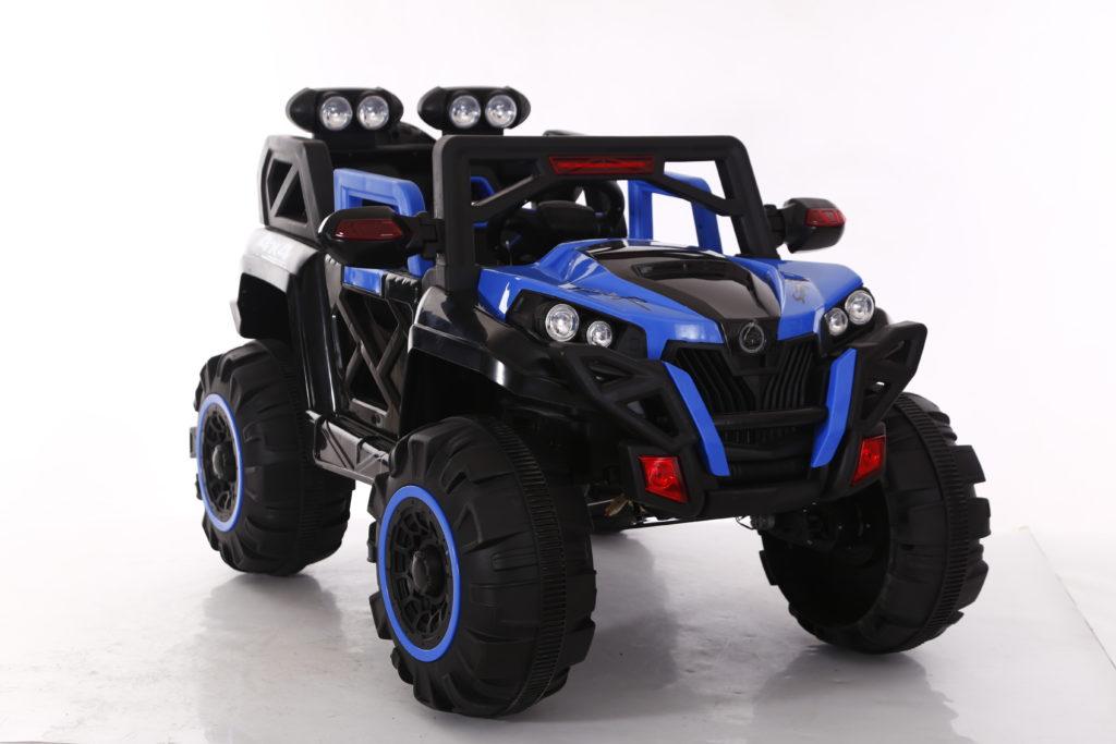 Xe ô tô điện trẻ em 2 chỗ ngồi Jeep BQ-2188 màu Xanh