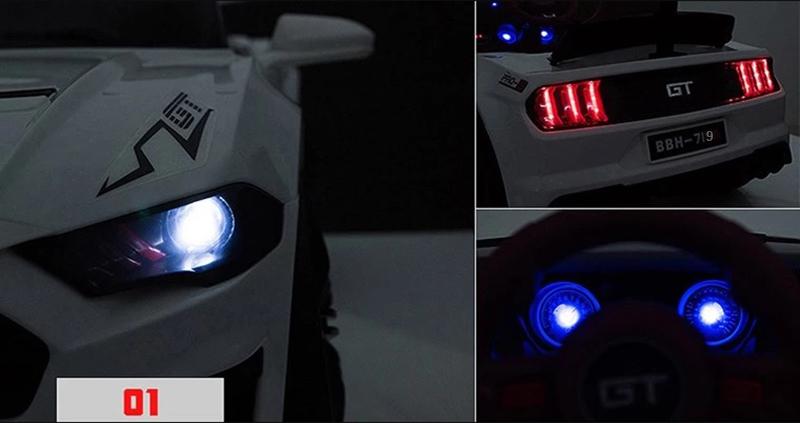 Xe điện trẻ em BBH-719 cụm đèn LED