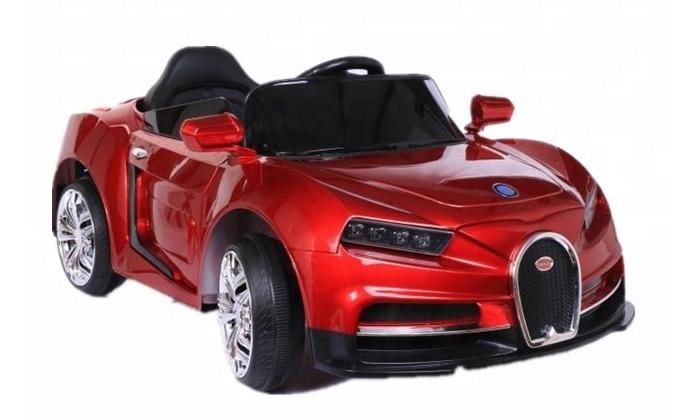 Xe ô tô điện trẻ em Bugatti CL-6666 màu Đỏ