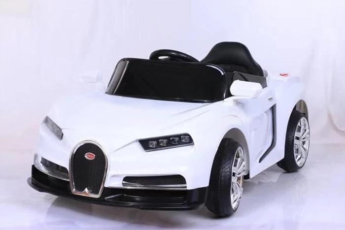 Xe ô tô điện trẻ em Bugatti CL-6666 màu Trắng