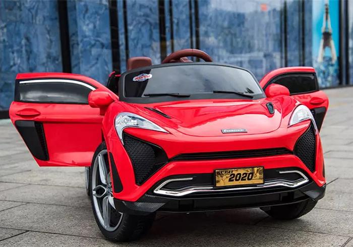 Ô tô điện trẻ em tự lái Mclaren 2020 màu Đỏ