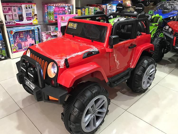 Ô tô điện trẻ em LT-828 màu Đỏ