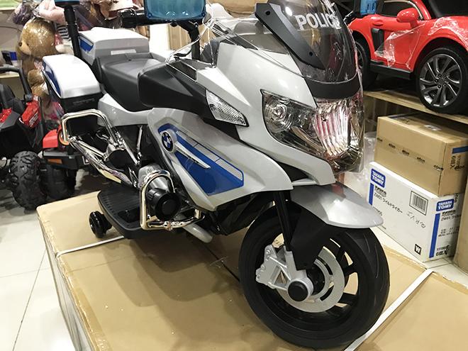 Xe máy điện cho bé BMW-212 hệ thống bánh cao su đặc siêu bền
