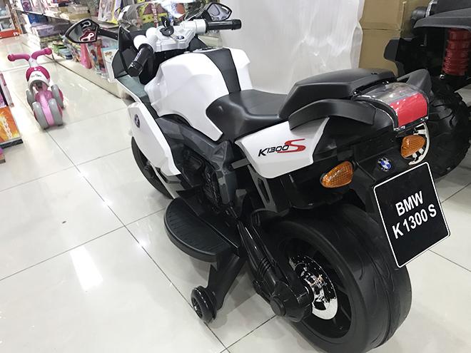 Xe máy điện cho bé K-1300S bánh nhựa cao cấp siêu bền