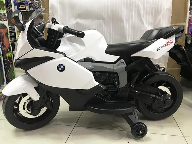 Xe mô tô điện trẻ em K-1300S 2 bánh phụ có thể tháo rời