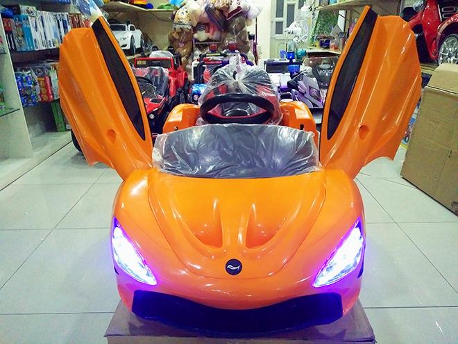Xe điện cho bé Mclaren ND-2019 màu Cam