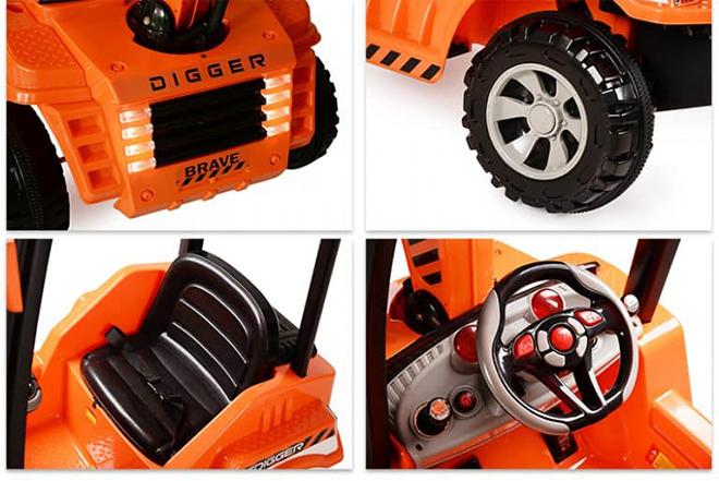 Xe điện cho bé YH-99176 chỗ ngồi rộng rãi, lớp vỏ nhựa bóng đẹp