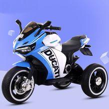 Xe máy điện trẻ em Ducati-08 chạy bằng tay ga có chân thắng