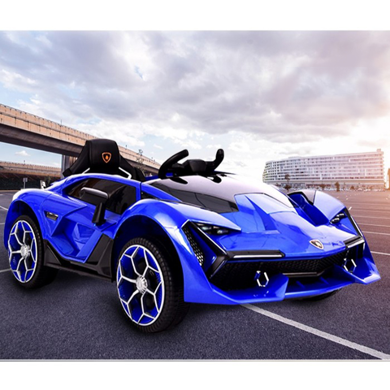 Xe điện trẻ em Lamborghini 2019-3 màu Xanh