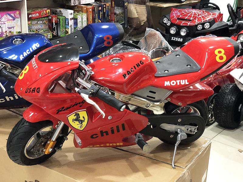 Xe điện trẻ em Ducati chạy bằng điện BL-300M màu Đỏ