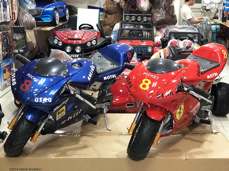 Mô tô mini Ducati BL-300M chạy bằng điện