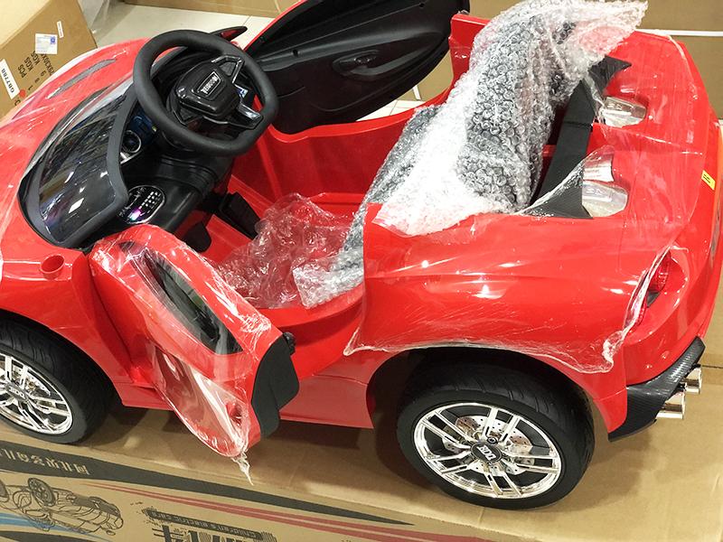 Xe điện trẻ em BDQ-2199 với ghế nệm da êm ái