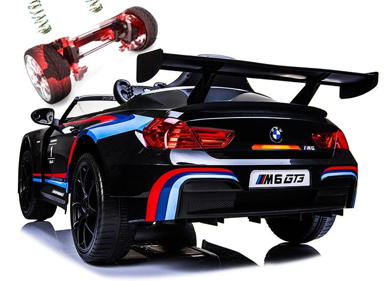 Xe điện trẻ em BMW 6666R hệ thống nhún trước và sau
