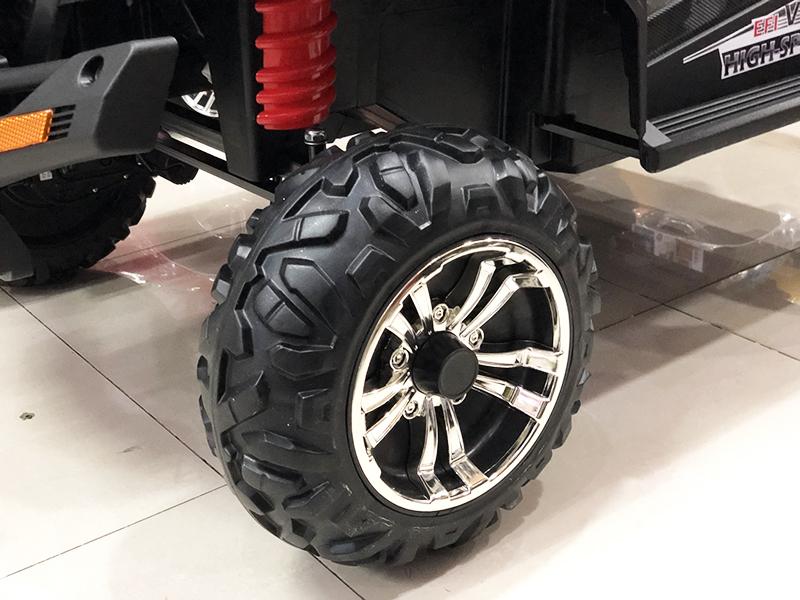 Xe điện cho bé S-2599 với bánh xe làm bằng Cao Su non đặc siêu bền
