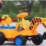 Xe cần cẩu máy xúc điện trẻ em JRT-318