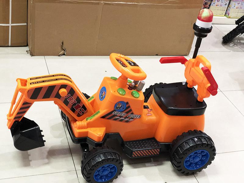 Xe cẩu máy xúc điện trẻ em JRT-318