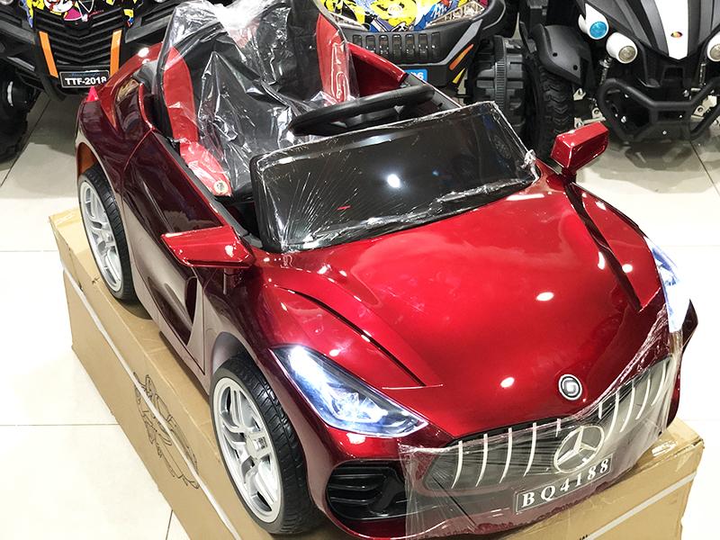Xe ô tô điện cho bé BQ-4188 bánh cao su non đặc
