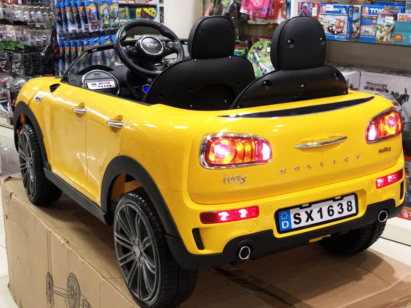 Xe ô tô điện trẻ em SX-1638 với khung gầm cao hầm hố