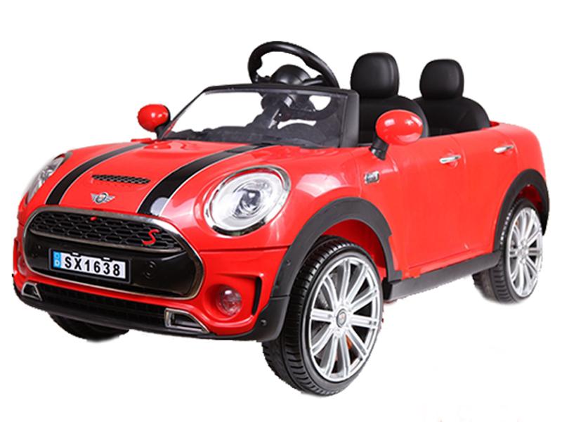 Xe ô tô điện cho bé SX-1638 màu đỏ