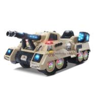 Xe tăng điện trẻ em FD-2809 dáng xe quân sự cực ngầu