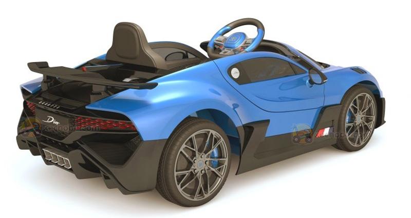 Xe điện cho bé Bugatti Divo HL-338 màu Xanh