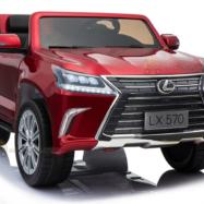 Xe ô tô điện trẻ em 2 chỗ ngồi LX-570 bản quyền của Lexus