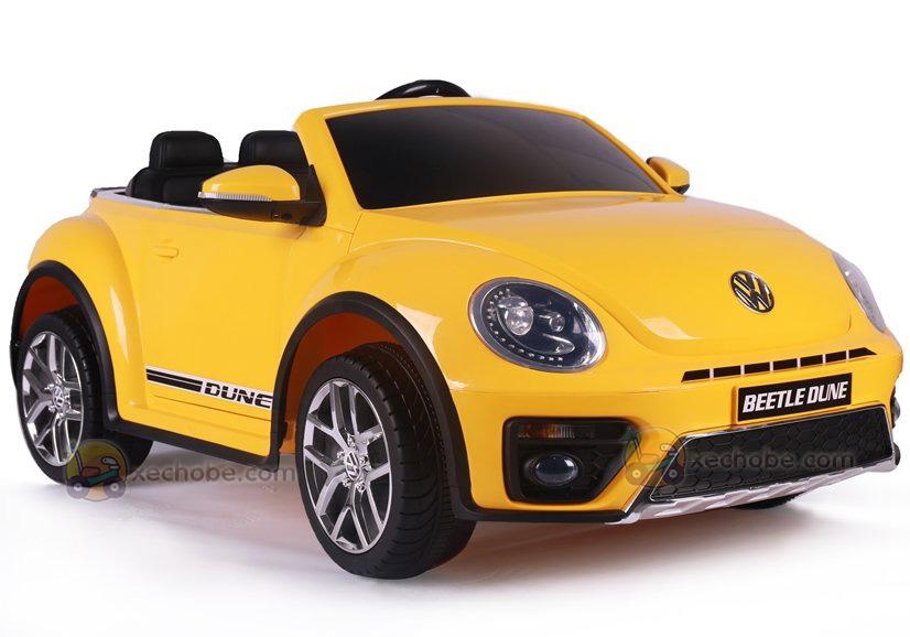 Xe ô tô điện trẻ em S-303 màu Vàng