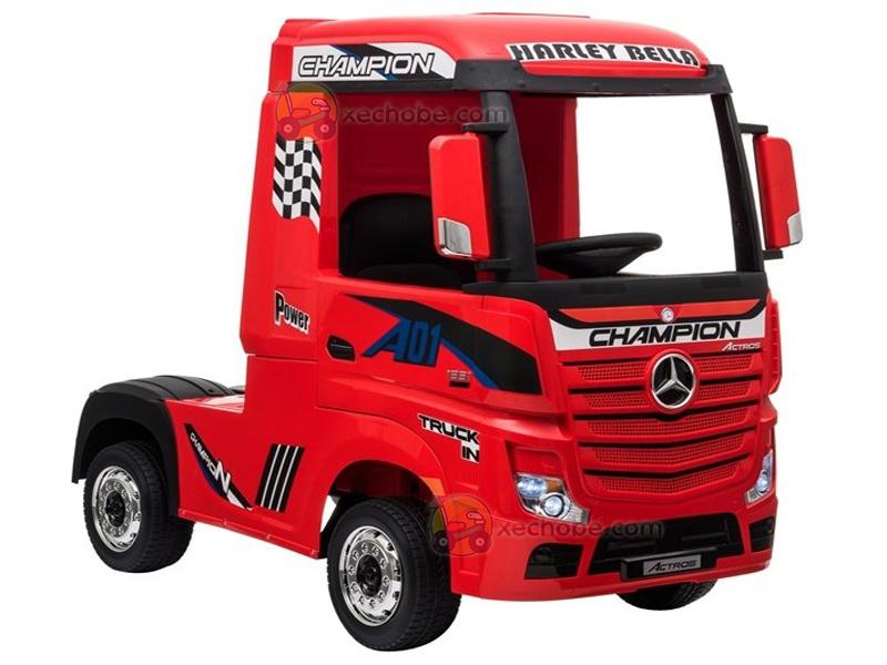 Xe điện trẻ em dáng Container HL-358 màu Đỏ