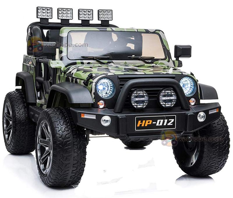 Xe ô tô điện trẻ em Jeep HP-012