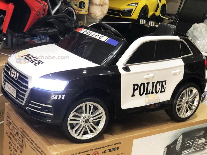 Ô tô cảnh sát cho trẻ em S-305 với Bánh xe làm từ cao su non