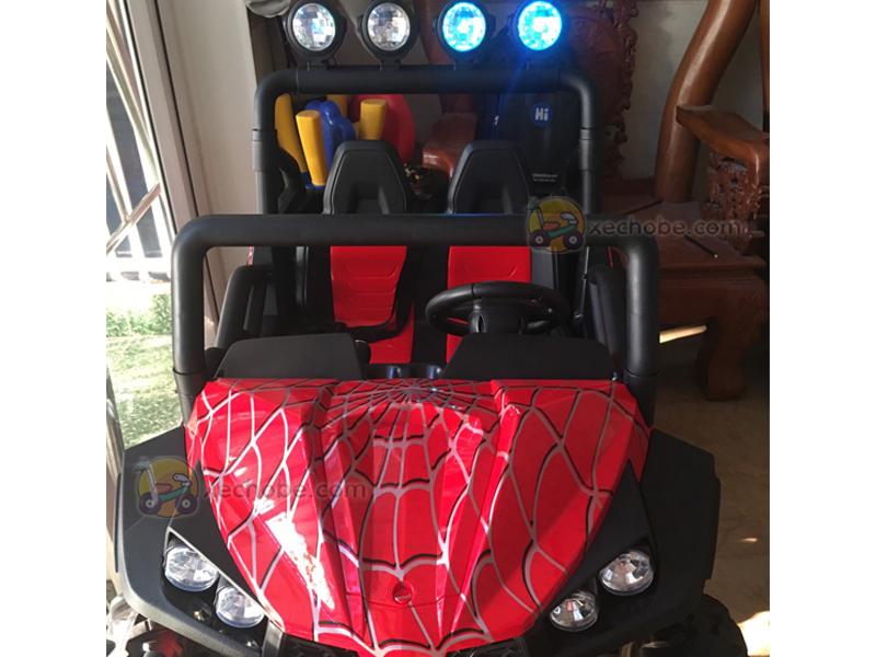 Ô tô điện trẻ em tự lái S-2799 với 2 chỗ ngồi cực kì rộng rãi